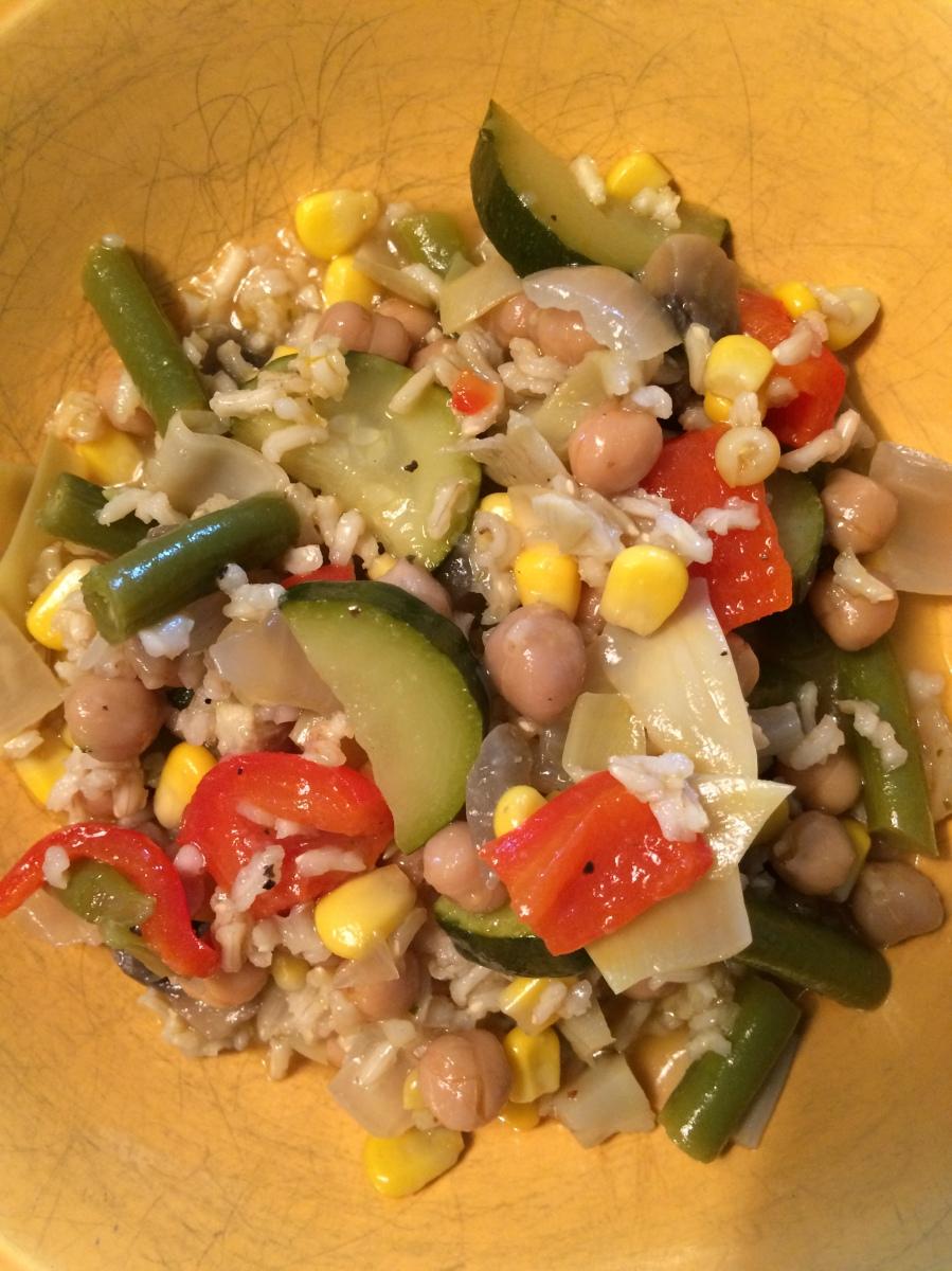 Summer Vegetable Paella – Feminist Foodie